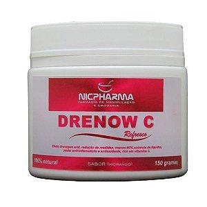 Drenow C 500mg Sabor Morango 150g  Nicpharma