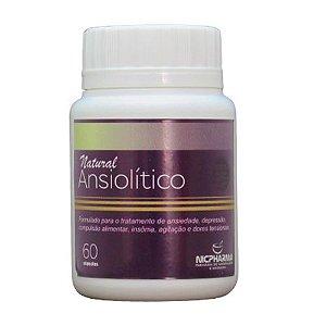 Ansiolítico Natural 60 cápsulas Nicpharma
