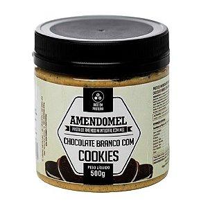 Pasta de Amendoim Chocolate Branco com Cookies 500g Thiani