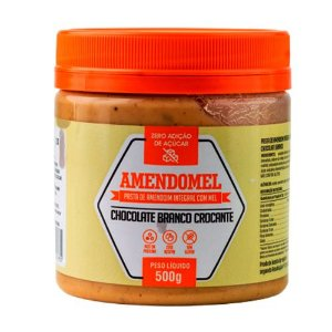 Pasta de Amendoim Chocolate Branco Crocante 500g Thiani