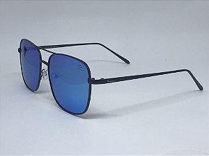 Western Aviador Polarizado, lente espelhada- Azul-P2576135-63