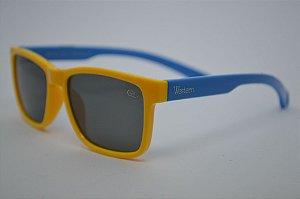 Solar Infantil Polarizado Amarelo/Azul 1448