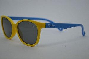 Solar Infantil Polarizado Amarelo/Azul 1451