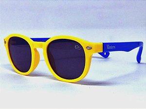 Solar Infantil Polarizado  Amarelo/Azul