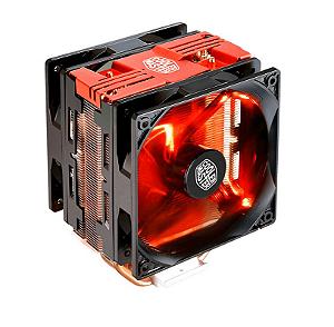 Cooler para Processador Air Cooler Master Hyper 212 LED Turbo Red Cover RR-212TR-16PR-R1