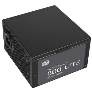 Fonte Cooler Master MasterWatt Lite 600W 80 Plus White MPX-6001-ACAAW-WO