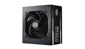 Fonte Cooler Master MWE 650 Gold Full Modular MPY-6501-AFAAG-AU
