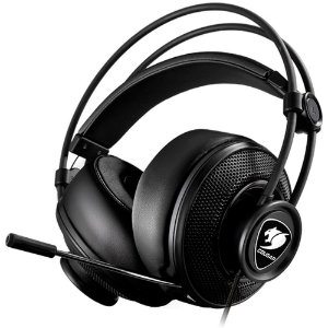 Headset Gamer Cougar Immersa Black - 3H300P40B.0009