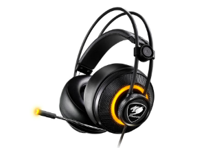 Headset Gamer Cougar Immersa Pro Black - 3H700U50B-0004