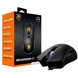 Mouse Gamer Cougar Revenger S - 3MRESWOB.0001