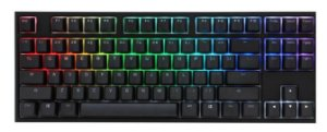 Teclado Mecânico Ducky Channel One 2 TKL RGB Backlit Cherry Red