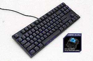 Teclado Mecânico Ducky Channel ONE 80% Switch Azul Iluminação Azul (DKON1687S-CUSPDAAB1)