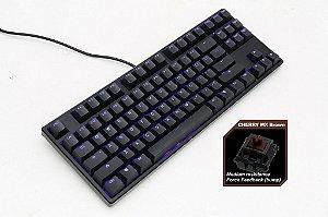 Teclado Mecânico Ducky Channel ONE 80% Switch Marron Iluminação Azul (DKON1687S-BUSPDAAB1)