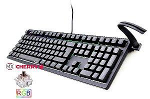 Teclado Mecânico Ducky Channel SHINE 6 Switch Marron Iluminação RGB (DKSH1608ST-BUSPDAAT1)