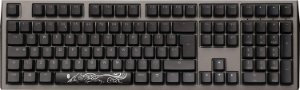 Teclado Mecânico Ducky Channel Shine 7 Gunmetal RGB Backlight Cherry Brown