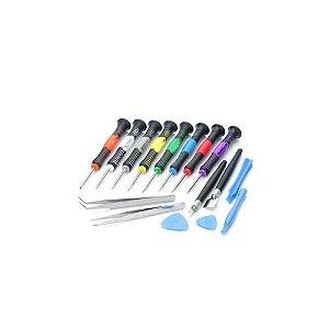 Kit De Chaves Para Conserto De Celular Pro Lk-2811 Luatek