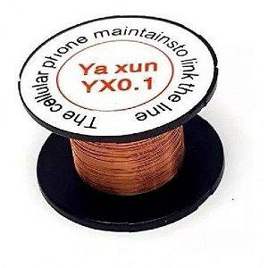 Fio De Cobre Esmaltado Para Jumper Yaxun Yx-0.1
