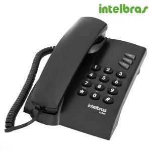 Telefone Com Fio Pleno - Preto - Intelbras
