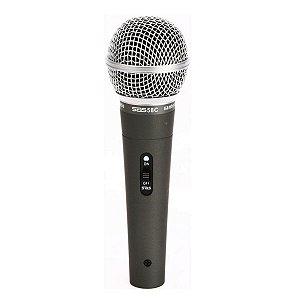 Microfone Santo Angelo Sas 58c C/ Maleta E Cachimbo