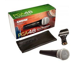 Microfone Shure Pga48 De Fio Original