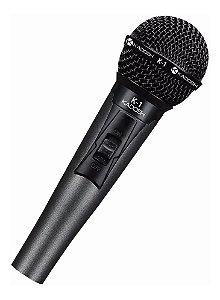 Microfone Dinâmico Com Fio K-1 De Mão - Kadosh Com Cachimbo