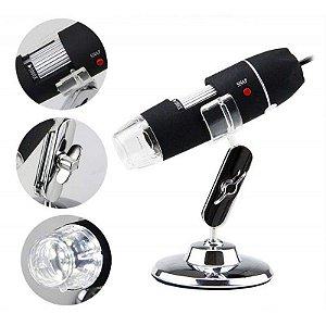 Microscópio Usb 1000x Xtrad Xt-2036