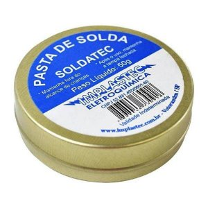 PASTA DE SOLDA SOLDATEC IMPLASTEC 50GR FLUXO