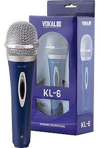 Microfone Vokal Kl 6 Vokal