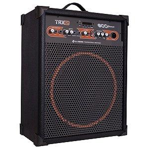 Caixa Amplificada 80w Rms Multiuso Trx12 Ll Áudio