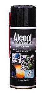 Álcool Isopropilico Spray Aerossol Implastec 160g 227ml