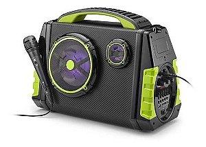 Caixa De Som Amplificadora Multilaser 120W Rms Party Speaker Bluetooth FM - SP280