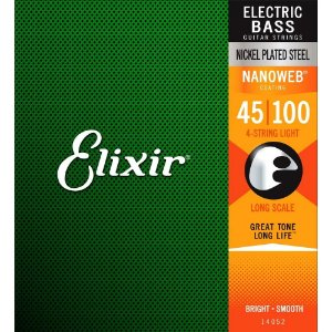 Encordoamento 045 Light Baixo 4c 14052 Elixir