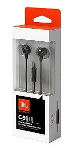 Fone de ouvido JBL C50HI BLK