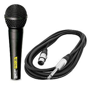 Microfone Com Fio Skp Pro-20