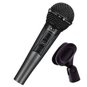 Microfone Kadosh K-1 De Mão Com Fio
