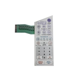 Membrana Teclado Microondas Electrolux Mep37