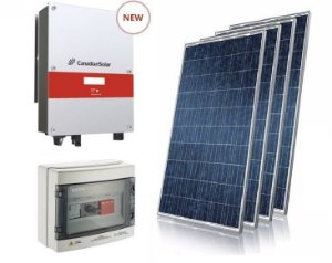 Gerador Fotovoltaico completo on-grid