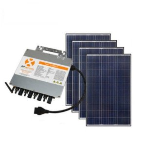 Kit Gerador Fotovoltaico Completo Com Microinversor YC1000 220/380v 1,32 kWp