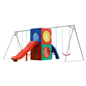 PLAYGROUND SQUARE TOWER PLAY