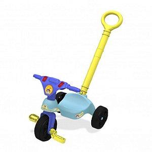Triciclo Fox Racer com Empurrador