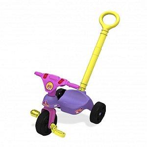 Triciclo Oncinha Racer com Empurrador
