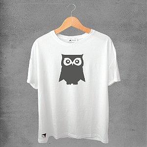 Camiseta masculina e feminina basic branca 100% Algodão Coleção Apaoká Nº 9