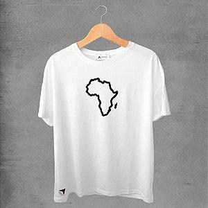 Camiseta masculina e feminina basic branca 100% Algodão Coleção Apaoká Nº 23
