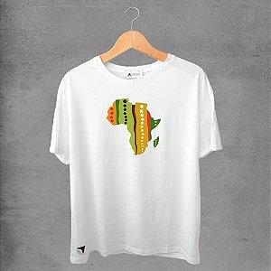 Camiseta masculina e feminina basic branca 100% Algodão Coleção Apaoká Nº 37