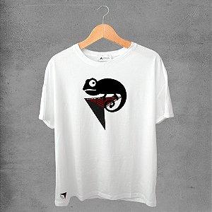 Camiseta masculina e feminina basic branca 100% Algodão Coleção Apaoká Nº 39