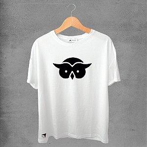 Camiseta masculina e feminina basic branca 100% Algodão Coleção Apaoká Nº 43