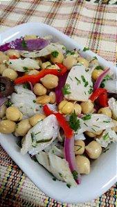 Salada de Bacalhau com Grão de Bico 500 gramas