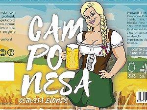 Cerveja Blond Ale Camponesa 600ml