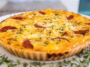 Quiche de Pepperoni, Cheddar e Catupiry 900 gramas Gourmeria