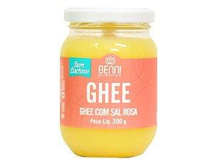 Manteiga Ghee Sal Rosa Benni 200g